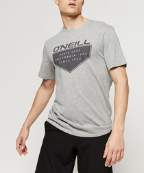 Grey organic cotton T-shirt