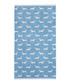 Blue Dachshund cotton bath towel Sale - Emily Bond Sale