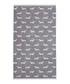 Grey Dachshund cotton bath towel Sale - Emily Bond Sale