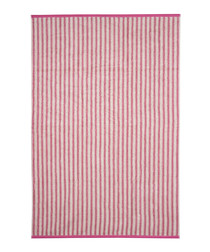 Pink Stripes cotton sheet towel