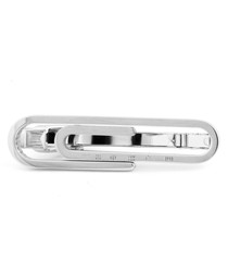 Silver-plated paper clip