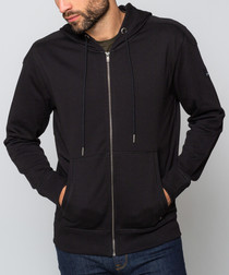 Beech black zip-up hoodie