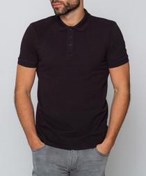 Hewitt black polo shirt