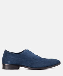 Barclay navy oxford shoes