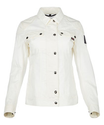 Bellevue racer white jacket