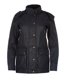 Tourmaster 3.0 navy waxed cotton jacket