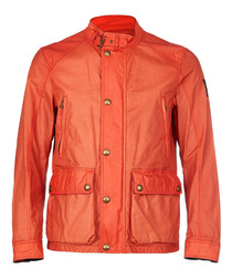 New Tourmaster red waxed cotton jacket