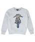 Riley Rider grey & blue graphic jumper Sale - Belstaff Sale