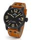 Tan vintage leather strap watch Sale - tw steel Sale