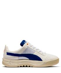 California white & blue sneakers