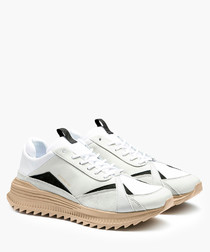 Avid Han white sneakers