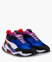 Thunder blue & white sneakers