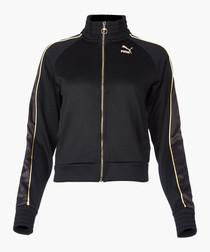 x Kenza black track jacket