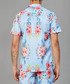 Connor blue floral printed shirt Sale - criminal damage Sale