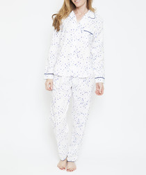 2pc Adele bird printed pyjama set