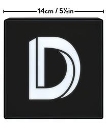 D alphabet lightbox