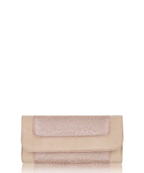 Charleston rose clutch