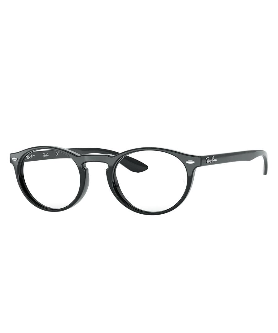 Black round full-rim glasses Sale - ray-ban