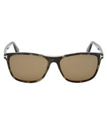 Havana brown sunglasses