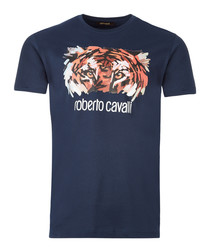 Navy graphic tiger T-shirt