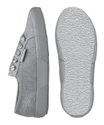 Grey breathable sneakers