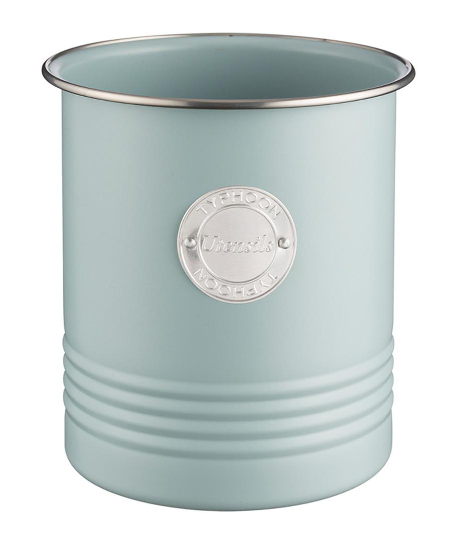 Blue coated steel utensil pot Sale - Typhoon