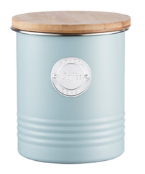Blue coffee canister 1L