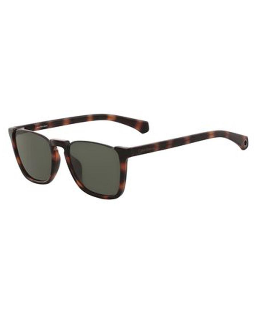 Tortoiseshell & grey sunglasses Sale - calvin klein