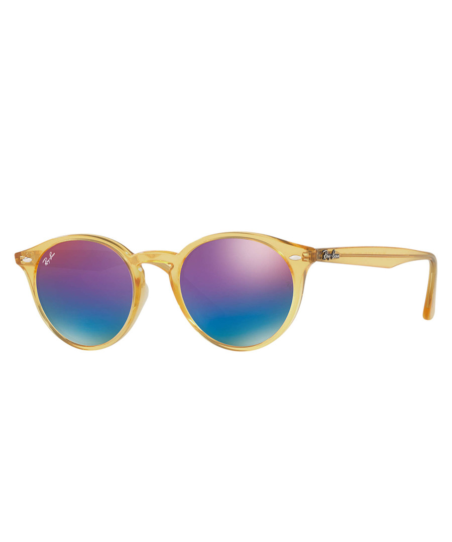 Yellow & violet gradient sunglasses Sale - ray-ban