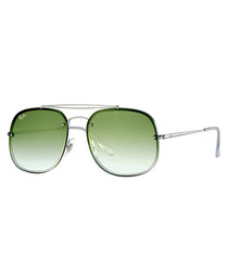 Blaze General silver-tone sunglasses