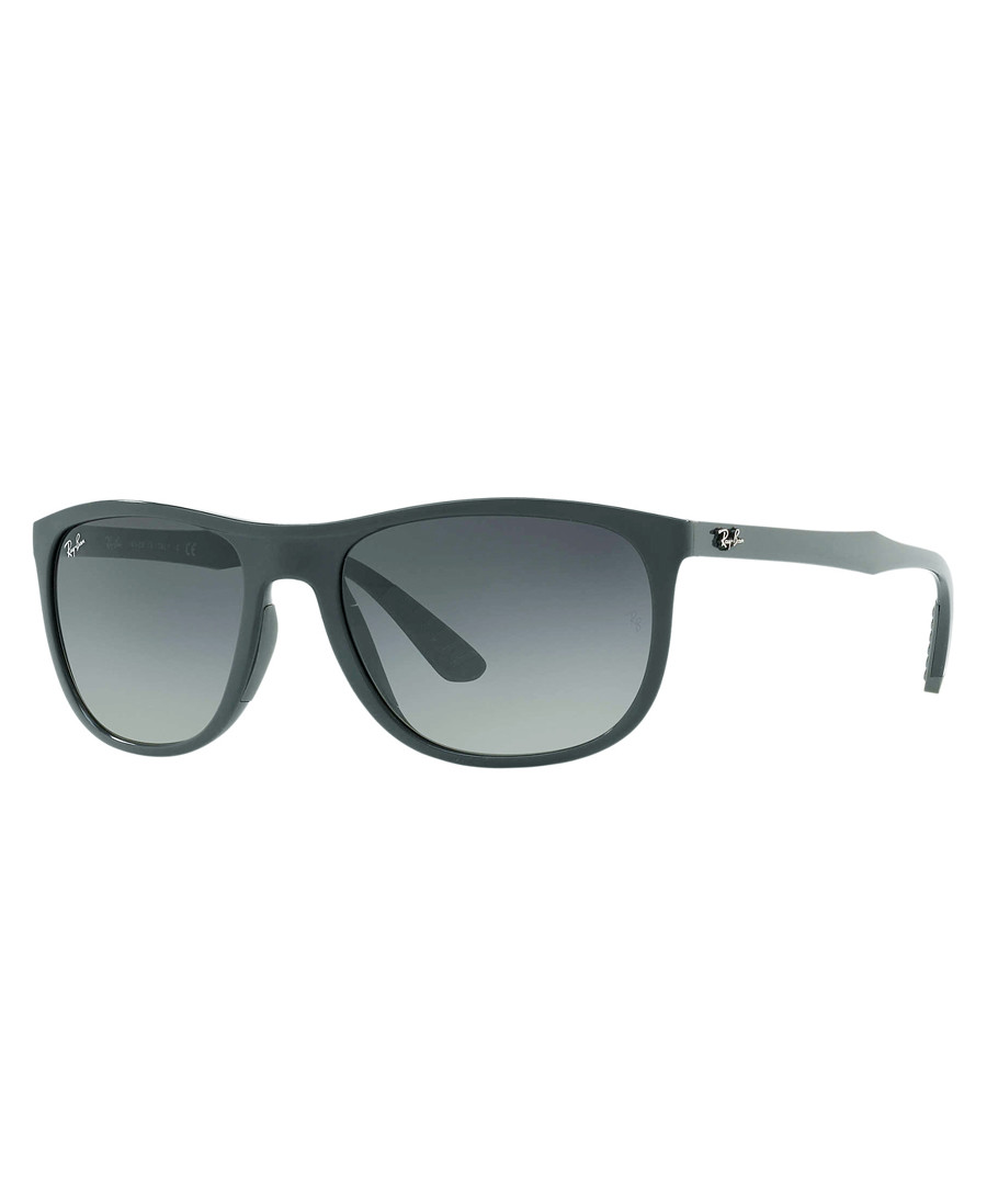 Black & blue mirrored sunglasses Sale - ray-ban