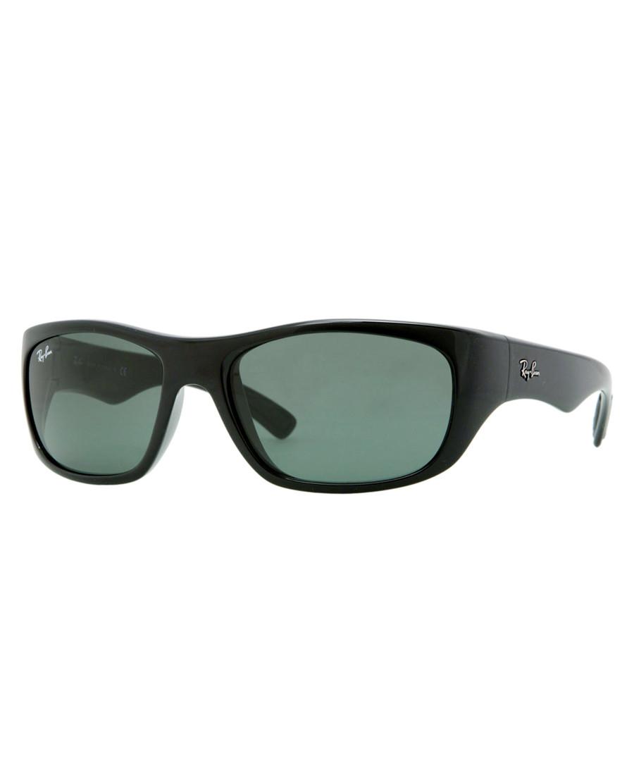 Black & crystal green sunglasses Sale - Ray Ban