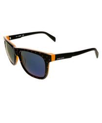 Black orange & blue sunglasses