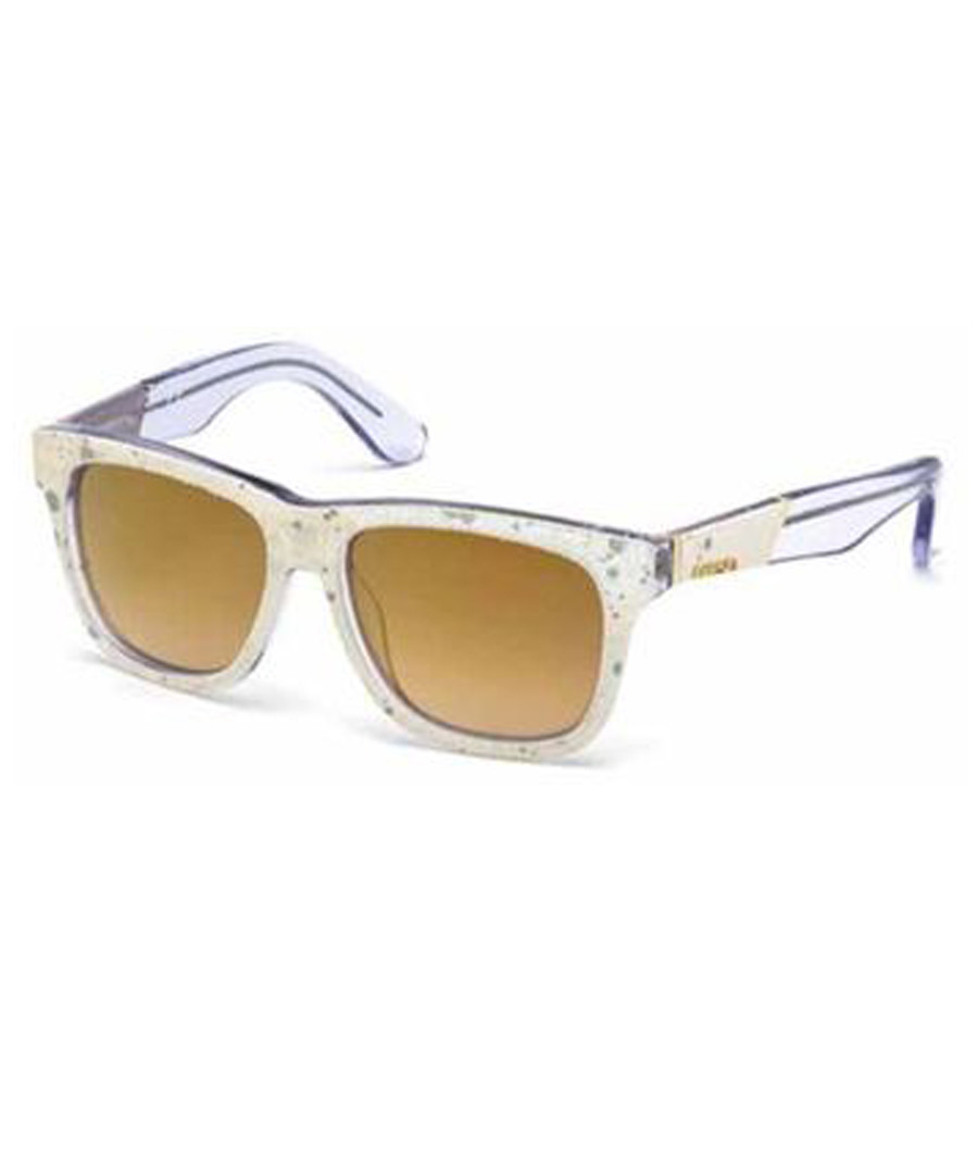 Clear frame & yellow sunglasses Sale - diesel