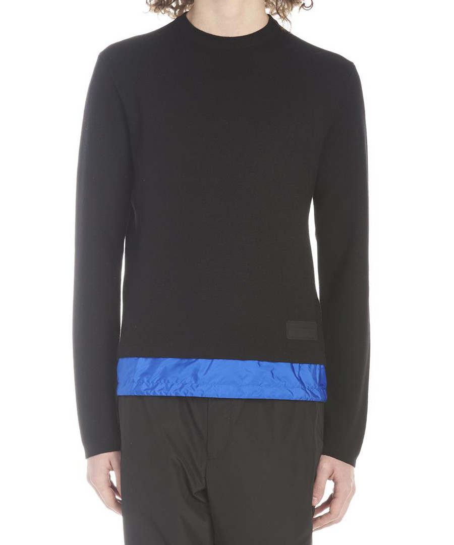 Blue basic jumper Sale - prada