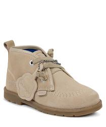 Orin desert sand suede boots