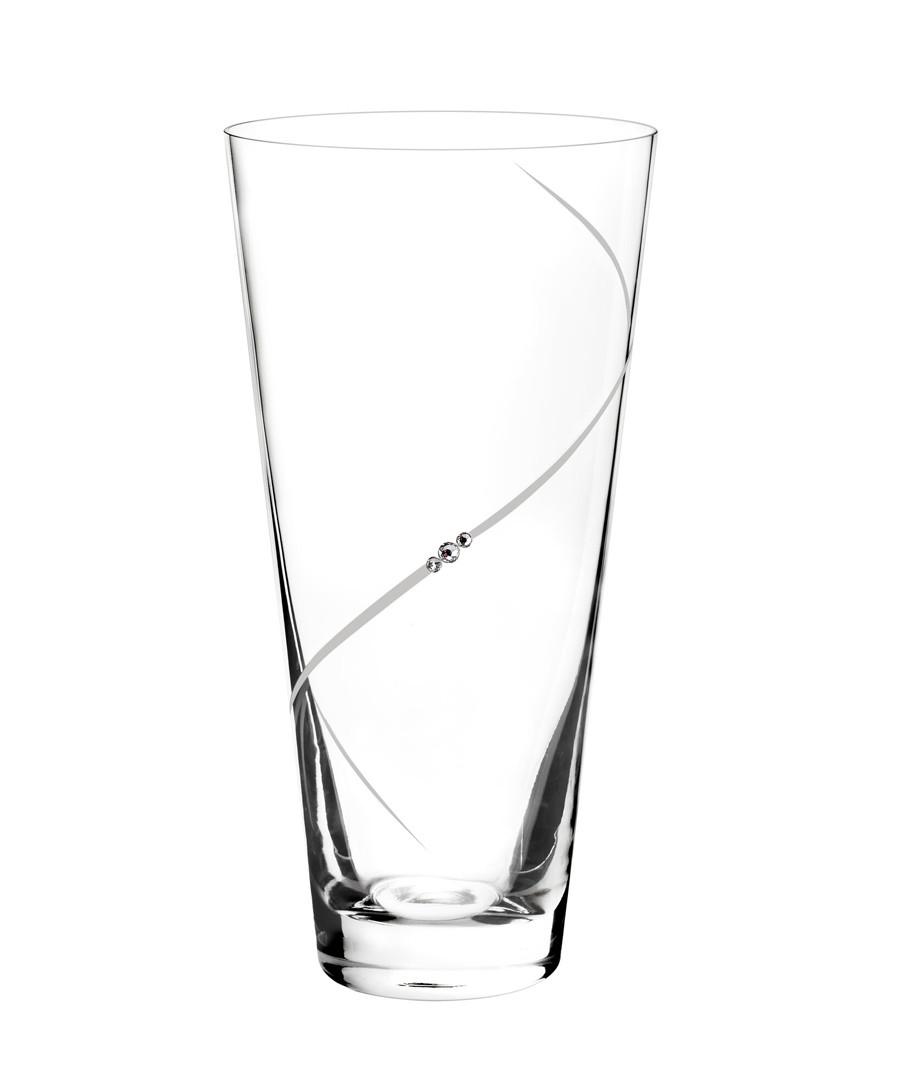 Portmeirion Auris Vase - Conical -  embellished with Swarovski Crystals Sale - Portmeirion