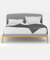 Mod natural oak king size Bed