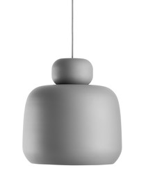 Stone Pendant grey large light