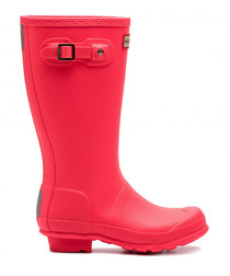 Kids' hyper pink wellingtons