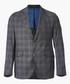 lt wool grey nvy chk Sale - hackett Sale
