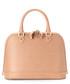Hepburn nude saffiano leather bag Sale - Aspinal of London Sale