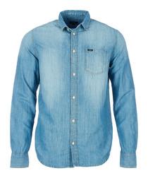 Portland denim cotton blend shirt