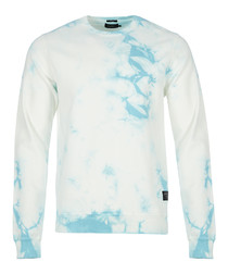 Britunes light blue printed jumper