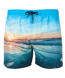 Donets multi-coloured swimming shorts