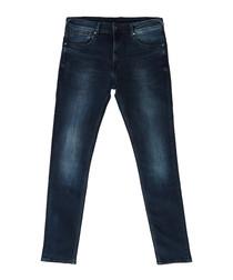 Nickel denim blue skinny fit jeans