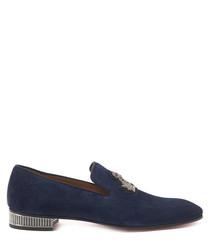 Captain Colonnaki blue loafers