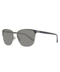 dark grey square skeleton sunglasses