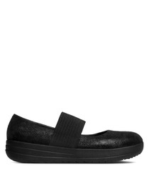 F-Sporty black mary jane shoes