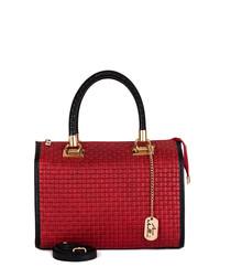 Viola cherry leather grab bag